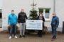 Weihnachtsüberraschung der Firma Eckel-Federn: 1000 Euro Spendencheck an das St.-Elisabeth-Hospiz